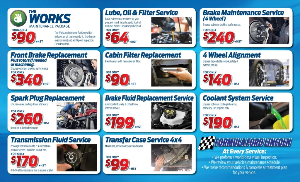 Formula Ford Service