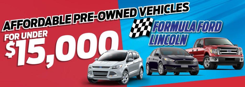 Formula Ford Under $15000